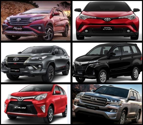 Jenis Mobil Toyota Dan Harganya 2019 Otomotif