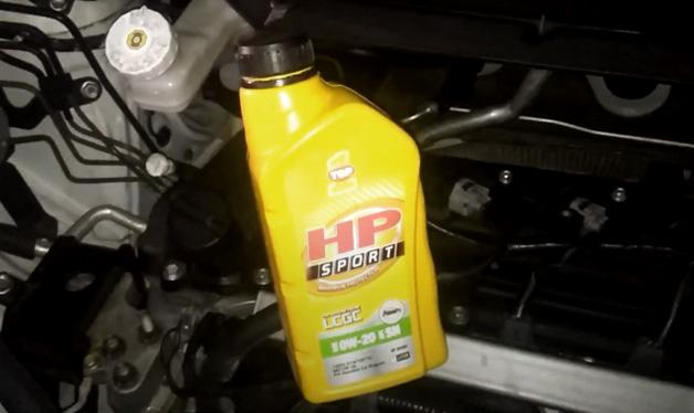 oli untuk mobil alya